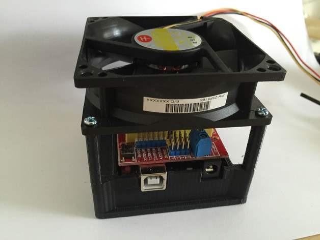 Arduino-uno-ventilador